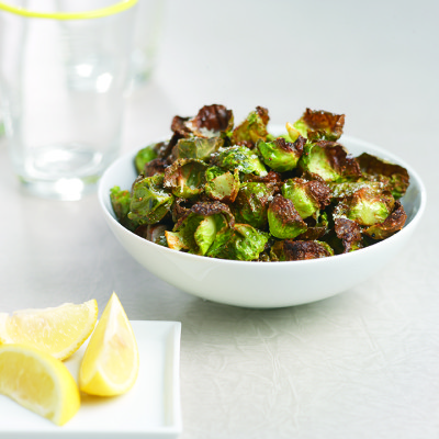 Crispy Roasted Brussels Sprout Leaves Ippolito International