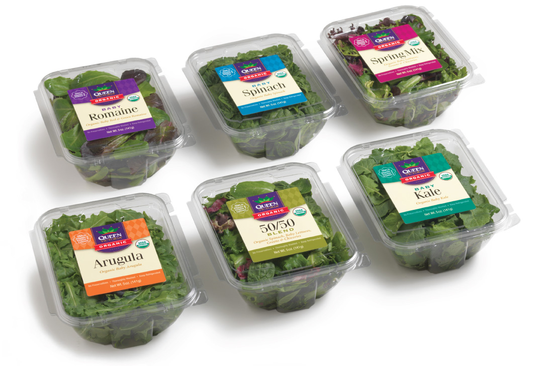 Queen Victoria Organic Salads